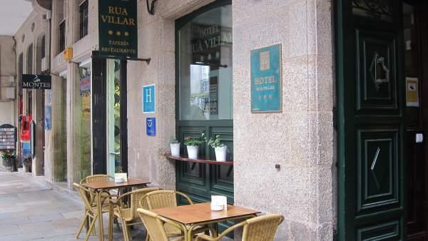 Hotel Rua Villar, Santiago.