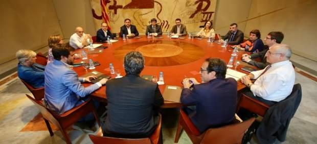 Reunión extraordinaria del Consell Executiu de la Generalitat