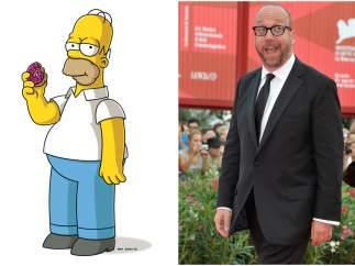 Así serían 'Los Simpson' de carne y hueso