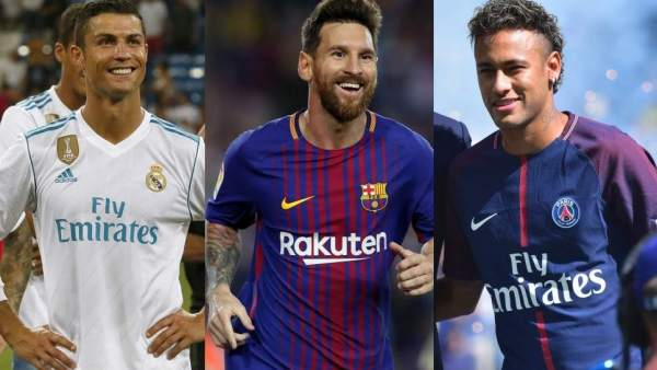 Cristiano , Messi y Neymar, finalistas al 'The Best'