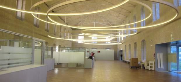Hall del nuevo Palacio de Justicia de La Rioja