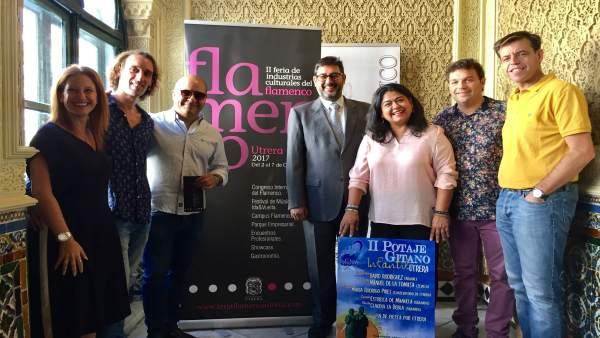 Presentación de la Feria de Industrias del Flamenco.
