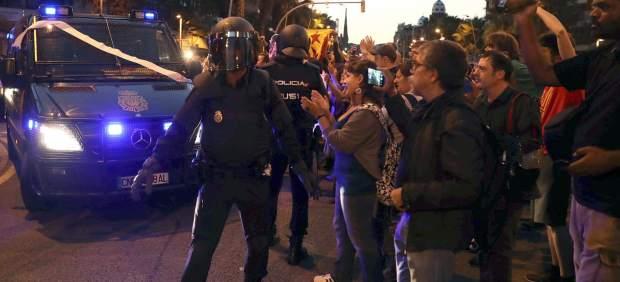 Policías ante la CUP