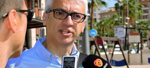 El concejal del PSOE en Almería Manuel Vallejo
