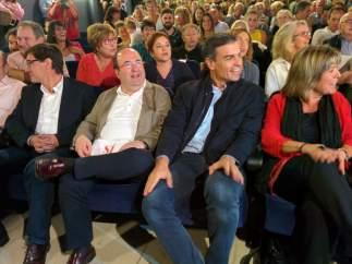 """Pedro Sánchez: """"El referéndum no va de echar a Mariano Rajoy, va de romper España"""""""