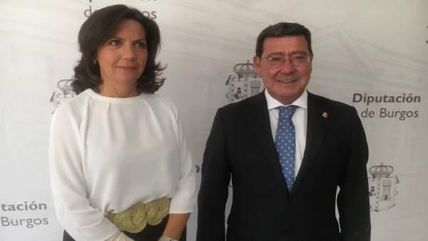 Marta Arroyo y César Rico.