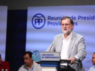 """Rajoy advierte de que el Gobierno """"ya ha impedido el referéndum"""""""