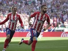 El Atlético ya es segundo en Liga tras su victoria sobre el Sevilla