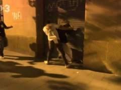 Los Mossos investigan una agresión una manifestación de ultraderecha