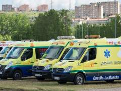 Ambulancias, UVI movil, Sescam, urgencias