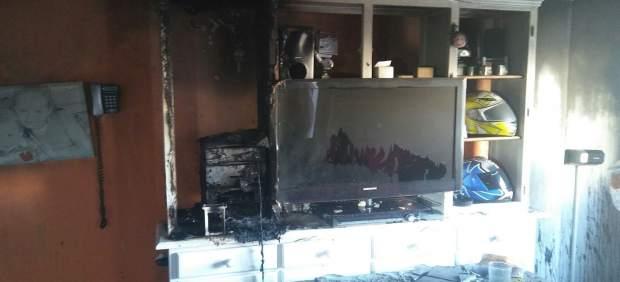 Incendio en una vivienda de El Puerto de Santa María (Cádiz)
