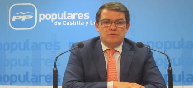 Valladolid. Presidente del PP de CyL, Alfonso Fernández Mañueco