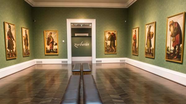 Exposición de Zurbarán en el Museo Meadows de Dallas.
