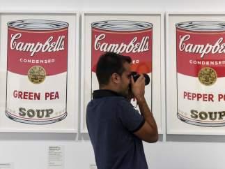 'Sopas Campbell's', serigrafía sobre papel de Andy Warhol del año 1968. Se puede ver en CaixaForum Barcelona hasta el 31 de diciembre.