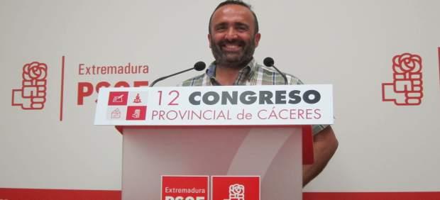 Miguel Ángel Morales, reelegido secretario provincial del PSOE en Cáceres
