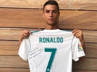 Apoyo de Cristiano Ronaldo tras el terremoto de México