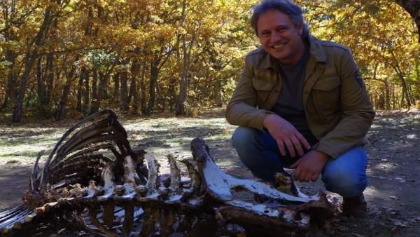El arqueólogo Jordi Rosell