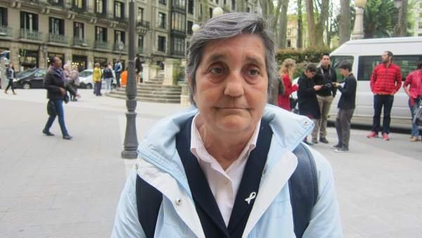 Blanca Estrella Ruiz, presidenta de la Asociación Clara Campoamor, en una imagen de archivo.