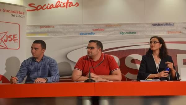 Presentación de la oficina socialista en el Congreso.
