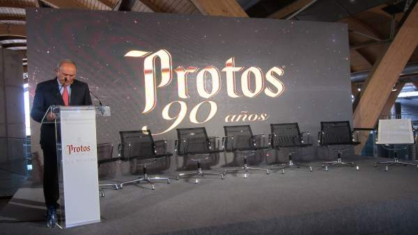 El presidente de Protos en el acto del 90 aniversario