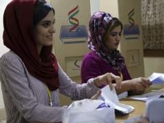 La alta participación marca el referéndum de independencia del Kurdistán