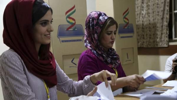Referéndum en el Kurdistán