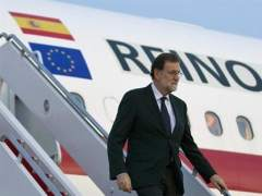 Rajoy llega a EE UU para entrevistarse con Trump