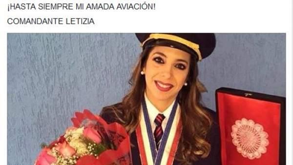 Letizia Ruiz, primera piloto comercial en Paraguay.