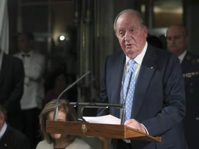 El Rey Juan Carlos, en su discurso