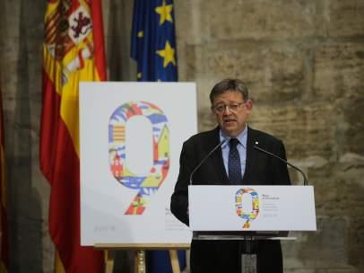 El Rei Jaume I obri les portes del Palau per a celebrar el 9 d'Octubre