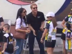 El príncipe Enrique y Meghan Markle, juntos en público