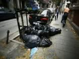 Recursos de la huelga de basuras en Madrid