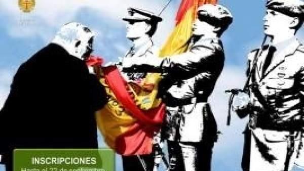 Cartel promocional de jura de bandera
