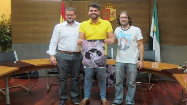 Presentación del II Festival de Artes del Movimiento en Rebollar (Cáceres)