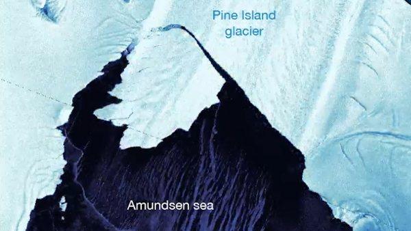 El glaciar antártico más inestable sufre un colapso