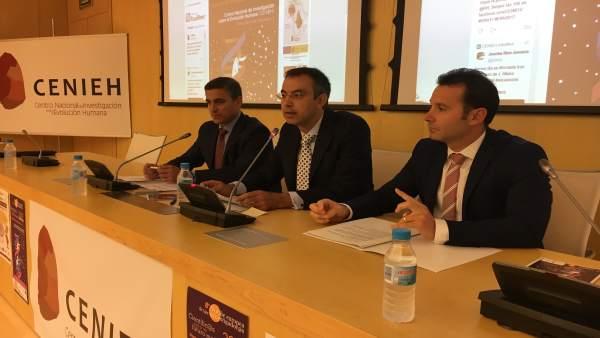 Rafael Berbero, Carlos de Quevedo y Alberto Navarro