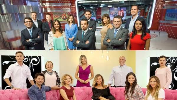 Presentación de la nueva temporada de CyLTV