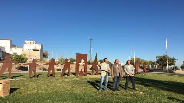 Escultura realizada por internos de la cárcel de Jaén