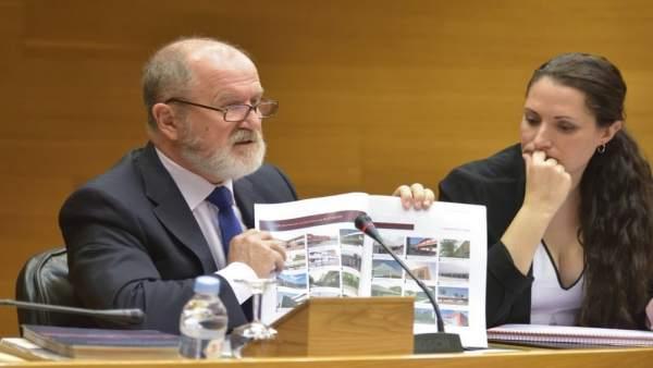 Alejandro Font de Mora en la comisión de Ciegsa