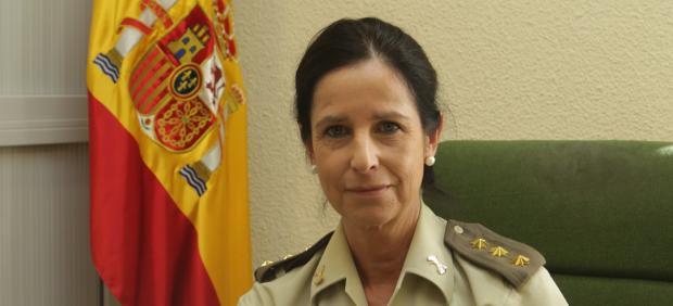 Patricia Ortega, la primera coronel del Ejército de Tierra