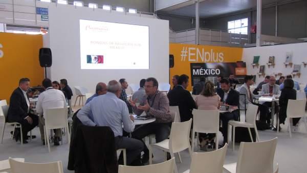 Encuentros con empresarios y entidades mejicanas en Expobiomasa