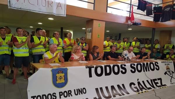 Nota Y Foto De La Rp Con Declaraciones De Zorrilla En Parque De Bomberos