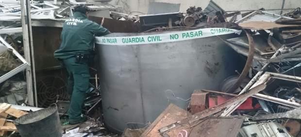 Guardia Civil vertidos Cerceda