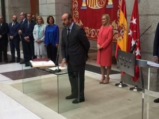 Pedro Rollán, nuevo consejero de Medio Ambiente