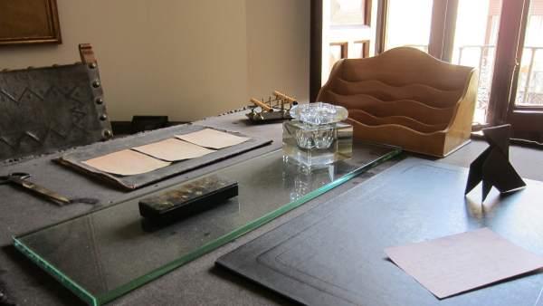 Escritorio De Unamuno En La Casa-Museo.