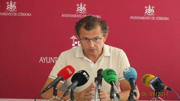 El portavoz de Cs en el Ayuntamiento de Córdoba, David Dorado
