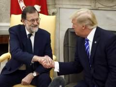 Buena sintonía entre Rajoy y Trump en la Casa Blanca