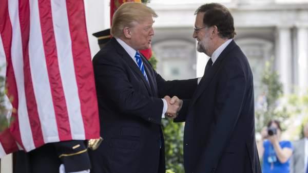 Trump y Rajoy