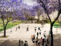 El Ajuntament desencalla el proyecto de los túneles y del futuro parque de la plaza de las Glòries