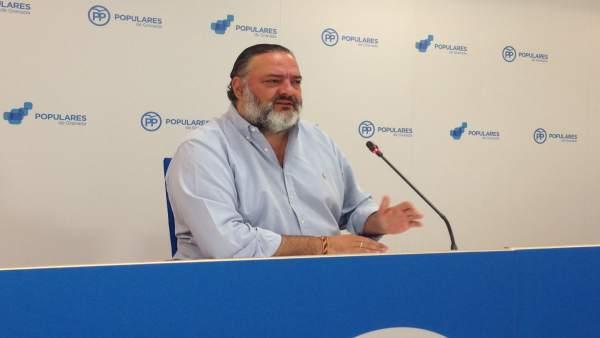 Pablo García, secretario provincial del PP